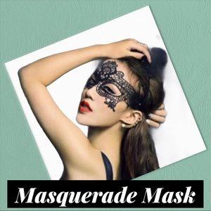 Sexy Black Lace Mask (A3)
